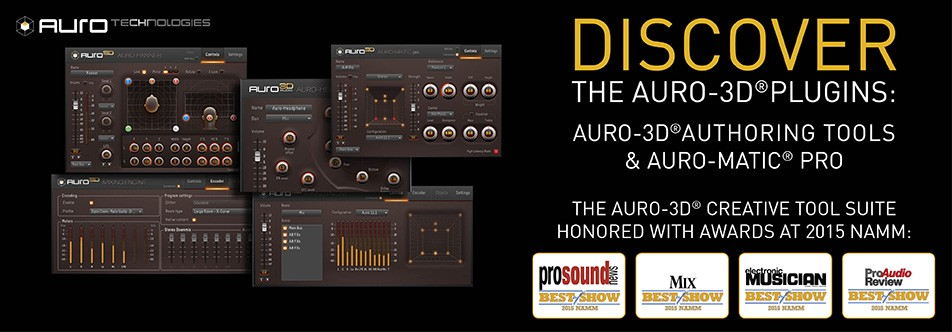 INTRODUCING THE AURO-3D® PLUGINS